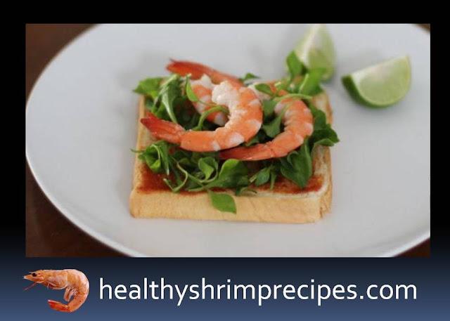 Healthy Shrimp Toasts