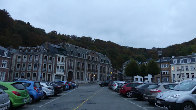 Spa - Parkplatz am Rathaus