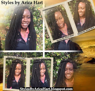 Crochet braid hair styles for women