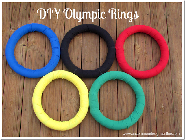 Be Different Act Normal Diy Olympic Rings Wreath