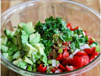 Corn Tomato Avocado Salsa Salad Recipe