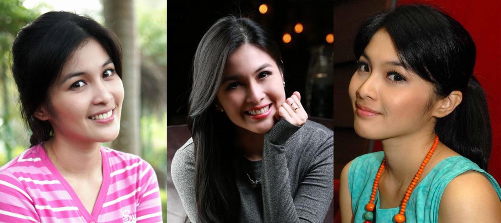 Artis cantik manis Cewek Cantik Sandra Dewi