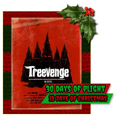 i wasnt sure if i was going to be able to track down a copy of treevenge all i knew is that it was a short film about christmas trees finally getting - Metalocalypse Christmas Tree