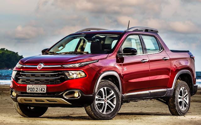 Fiat Toro 2017 - 2º comercial leve mais vendido do Brasil