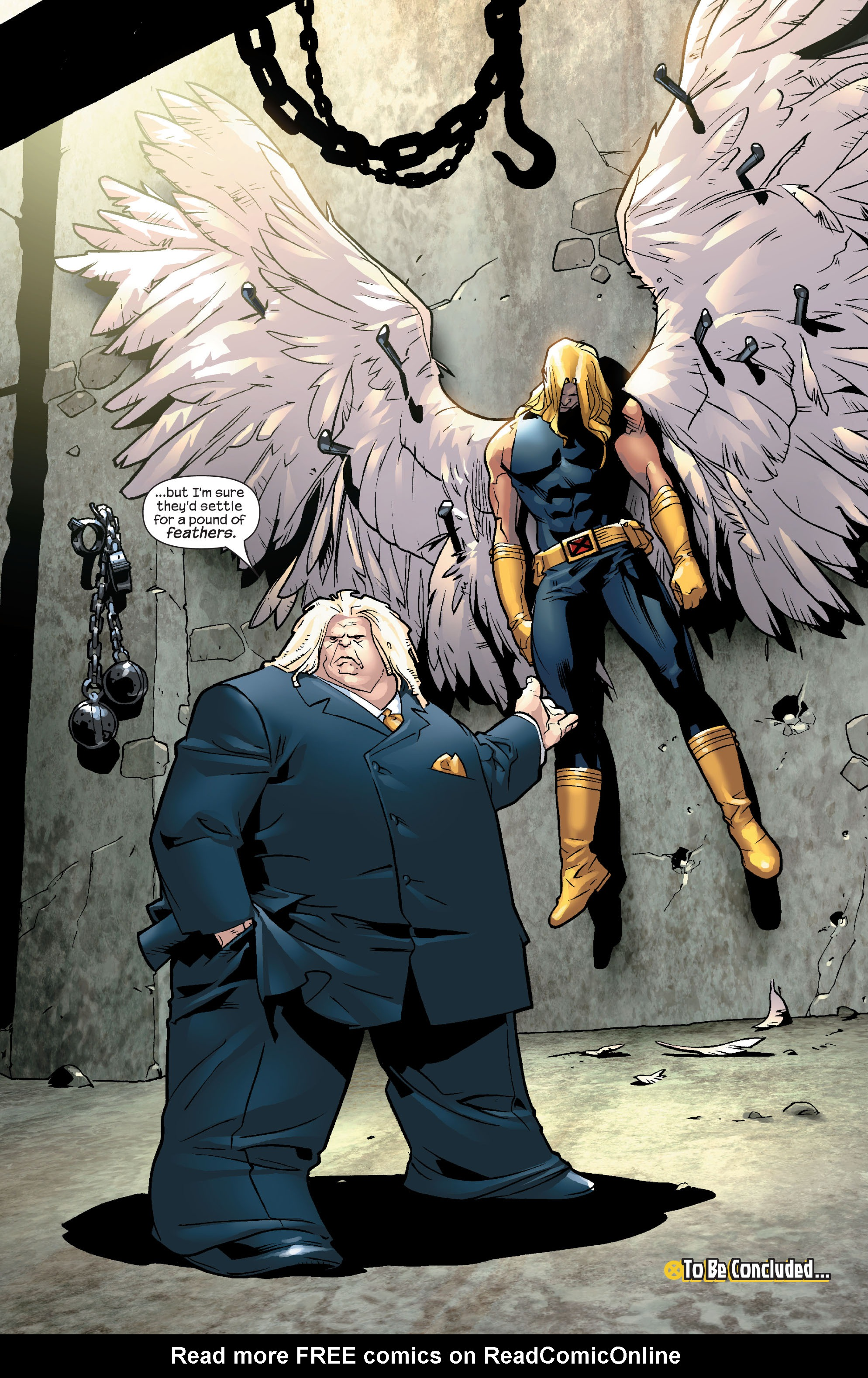 Read online Ultimate X-Men comic -  Issue #56 - 24