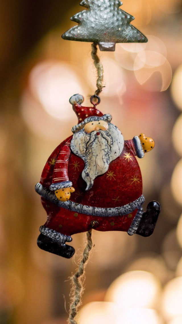 Iphone 5 Wallpaper Christmas Santa Claus Hd Wallpapers