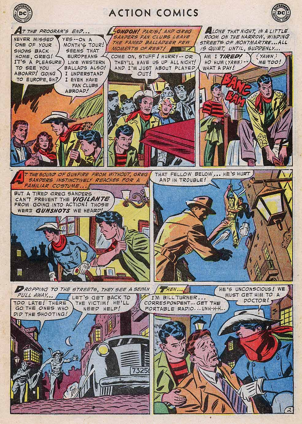 Read online Action Comics (1938) comic -  Issue #196 - 35
