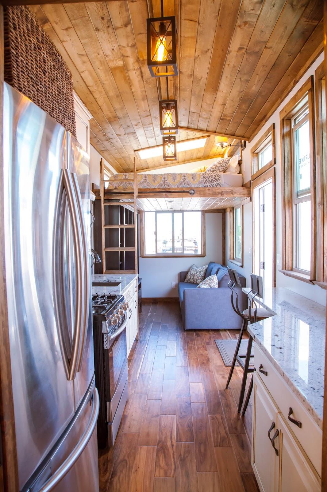 Interior Design Small Living Room Layout: TINY HOUSE TOWN: Teton From Alpine Tiny Homes