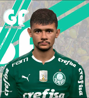 PES 2017 Faces Gustavo Scarpa by Gleidson