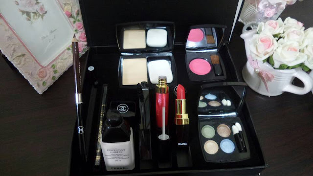 CHANEL SET BOX lengkap CHANEL COSMETICS