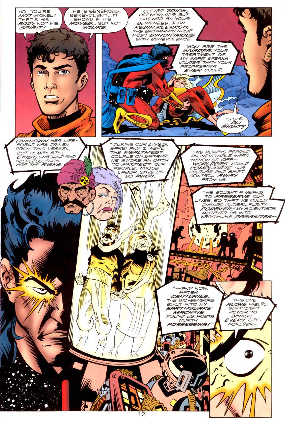 Legion of Super-Heroes (1989) 111 Page 12