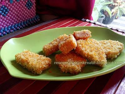 Cara menciptakan nugget ayam sendiri di rumah Resep Nugget Ayam Wortel Rumahan Sederhana Enak dan Gurih
