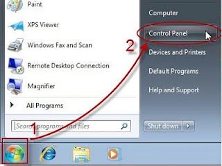 start control Windows 7 8, control panel Win7 nằm ở đâu, Cách vào Facebook (FB) - Mạng FPT, VNPT, Viettel - mới nhất