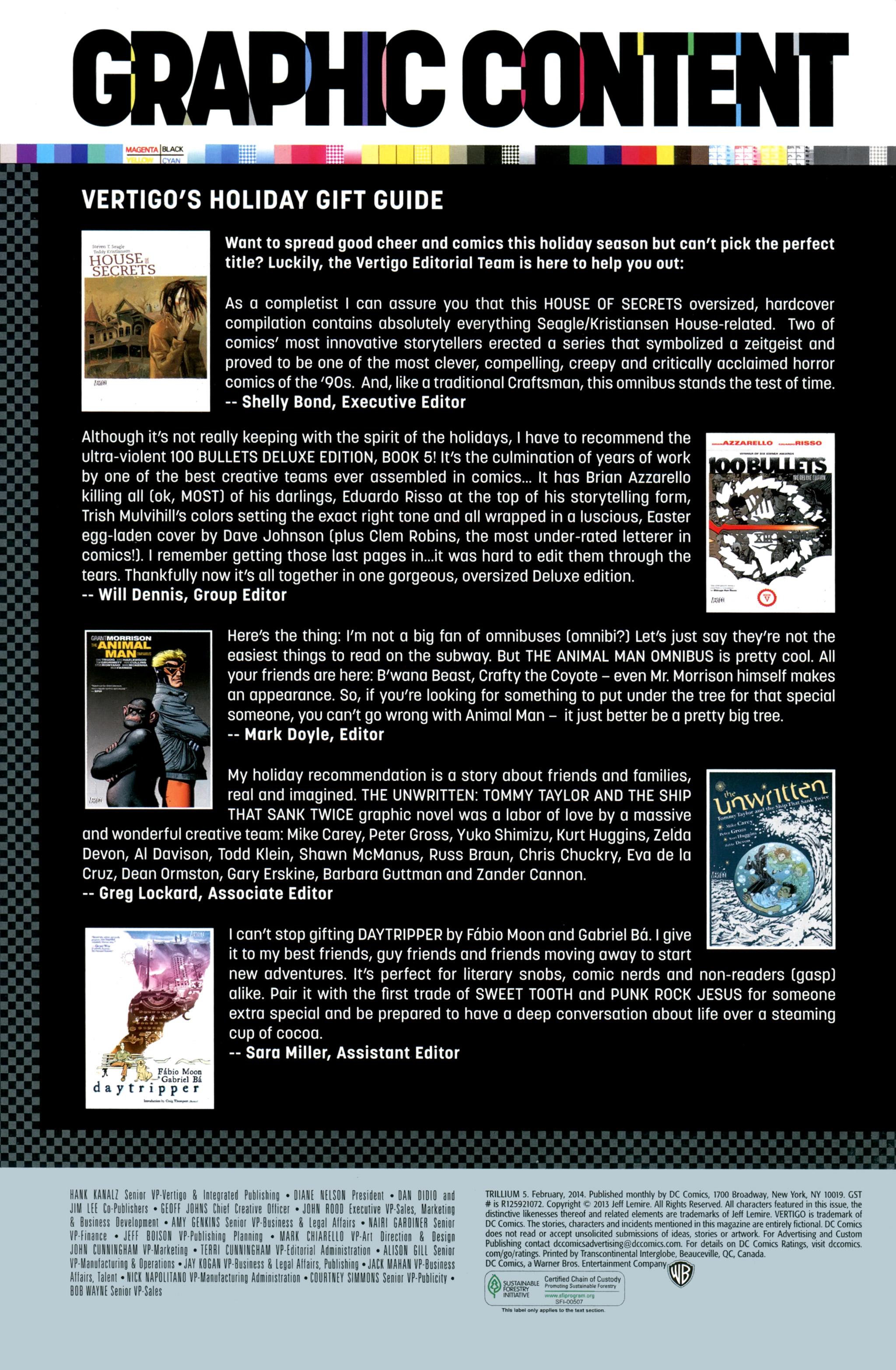 Read online Trillium comic -  Issue #5 - 22