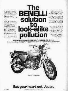 cafè sport motorcycles: Benelli TORNADO 650