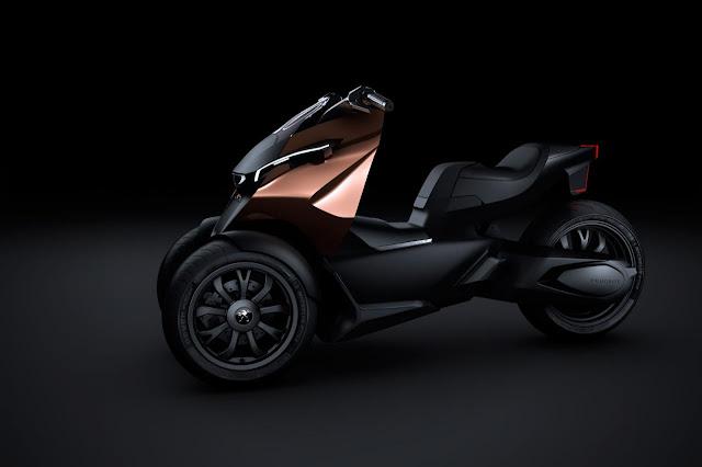 peugeot onyx concept scooter in paris 2012 garage car. Black Bedroom Furniture Sets. Home Design Ideas