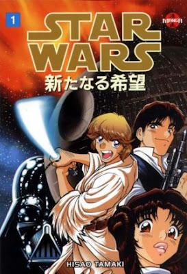 Star Wars: una nueva esperanza Ed. Manga de Hisao Tamaki
