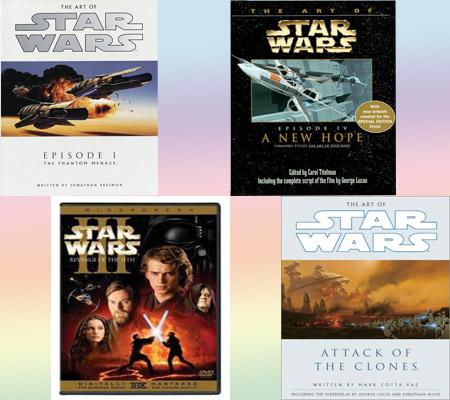 Art of Star Wars Episode I, II, III y IV