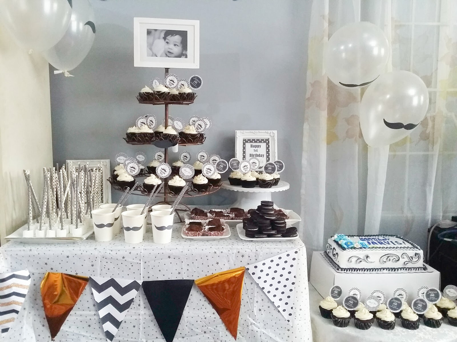 One Year Old Birthday Celebration Party Ideas And Decor