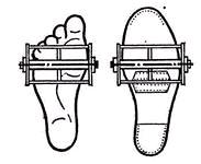 Правильное положение ступней на педалях