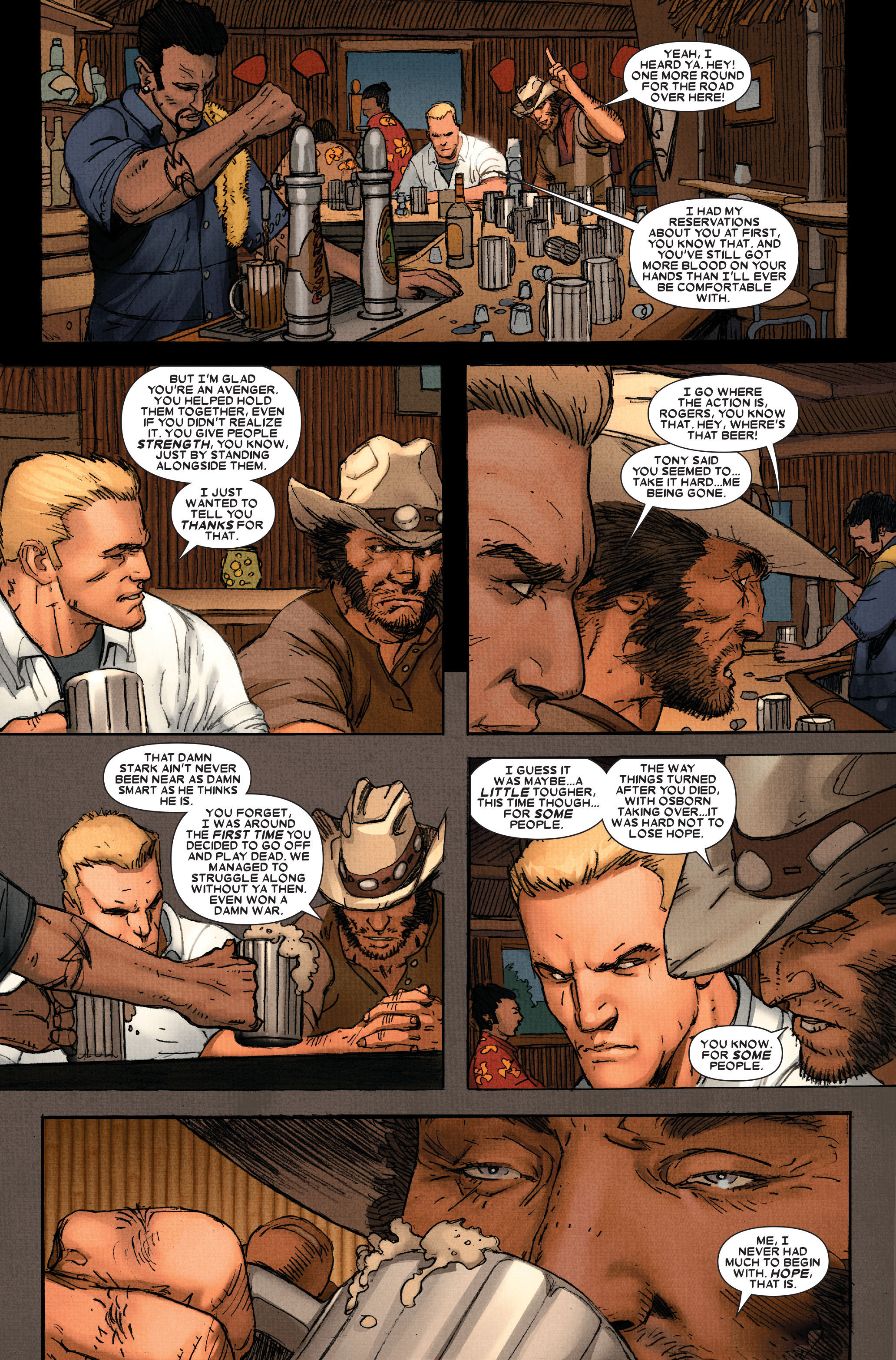 Read online Wolverine: Weapon X comic -  Issue #11 - 14