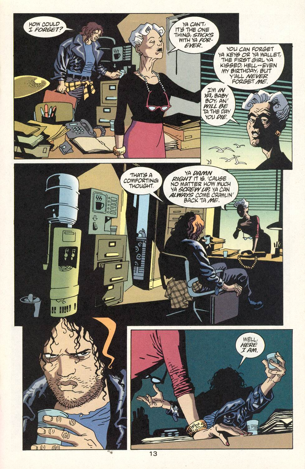 Read online 100 Bullets comic -  Issue #22 - 14