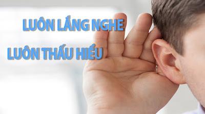 Luôn lắng nghe - luôn thấu hiểu khách hàng