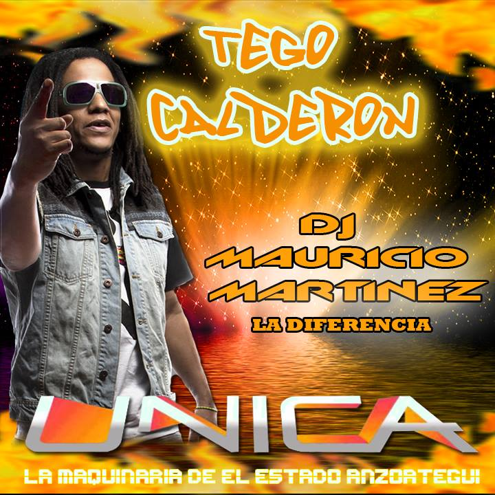 TEGO CALDERON UNICA DISCPLAY DJ MAURICIO MARTINEZ