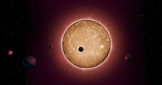 Artist's impression of an exoplanet system. Image: NASA