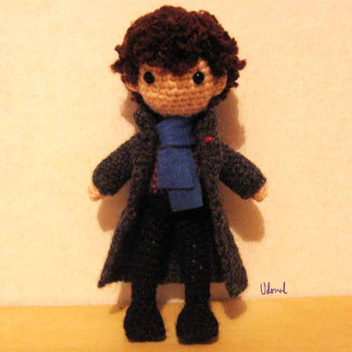 Crocheted Consulting Detective - Free Pattern