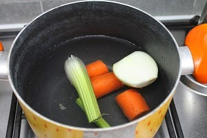 Crema di lenticchie con burrata - Lenticchie a bagno ...