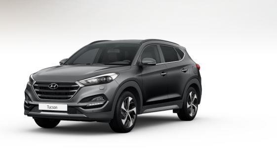 colori Nuova Hyundai Tucson 2016 Grigio Intermedio - Micron Grey frontale davanti