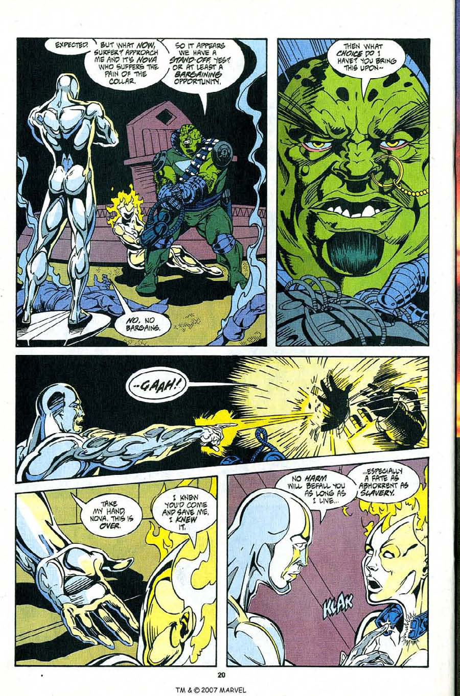 Read online Silver Surfer (1987) comic -  Issue #99 - 22