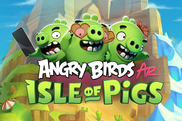 Rovio announces Angry Birds AR: Isle of Pigs augmented reality (AR) game for iOS