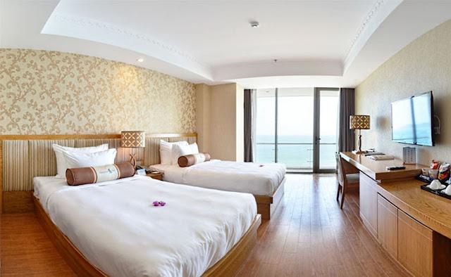 Thiết kế khách sạn Diamond Sea hiện đại
