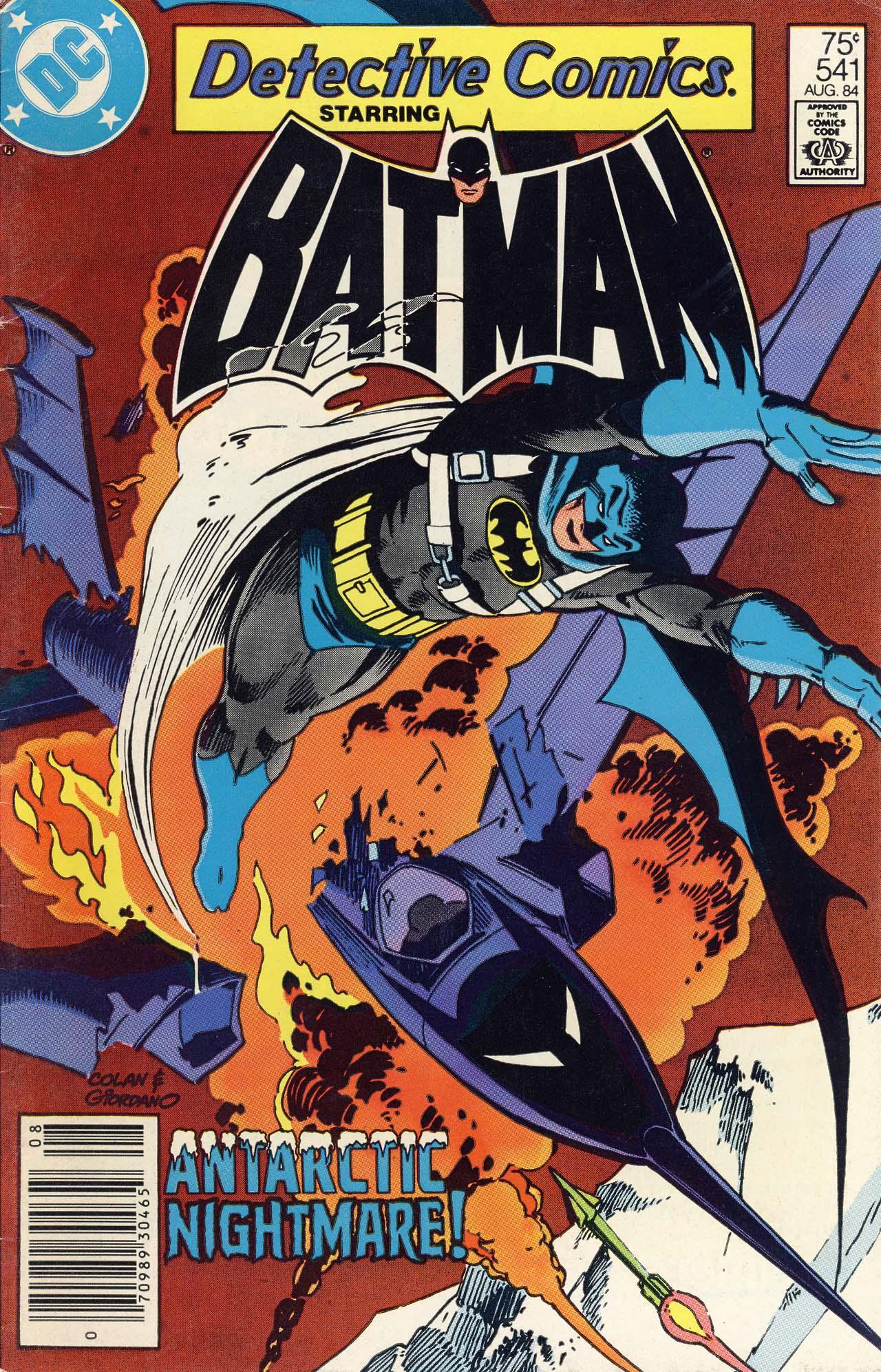 Detective Comics (1937) 541 Page 0