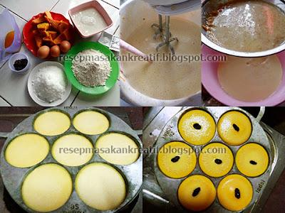 Cara Membuat Kue Lumpur Labu Kuning
