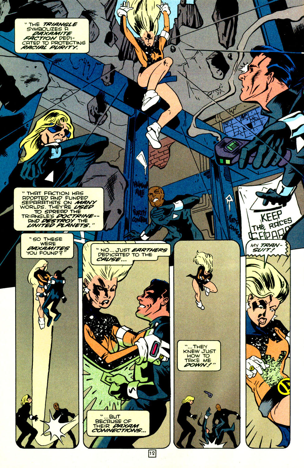 Legion of Super-Heroes (1989) 70 Page 13