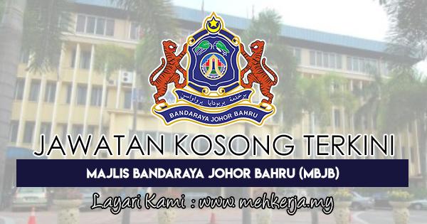 Jawatan Kosong Terkini 2018 di Majlis Bandaraya Johor Bahru (MBJB)