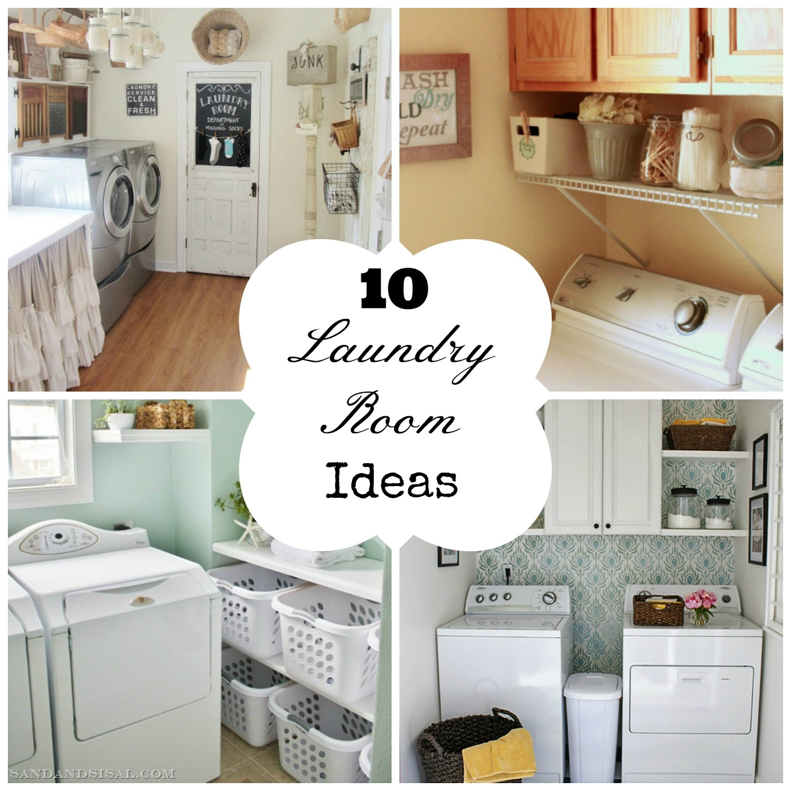 10 laundry room ideas fun home things for Laundry house