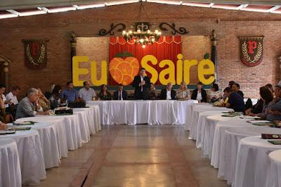 Município de Sairé foi sede do I Encontro dos Prefeitos da RPMS