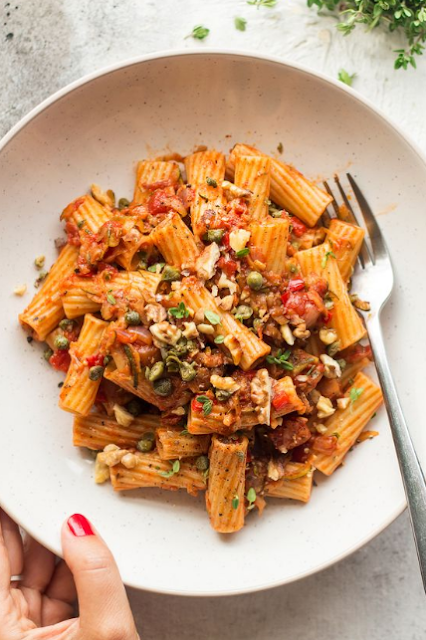 summer zucchini bolognese
