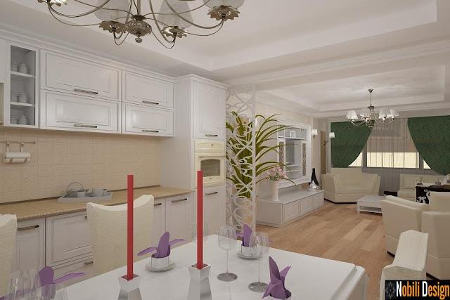 Design interior - case - apartamente - stil - clasic - cu - materiale de - designer - Constanta