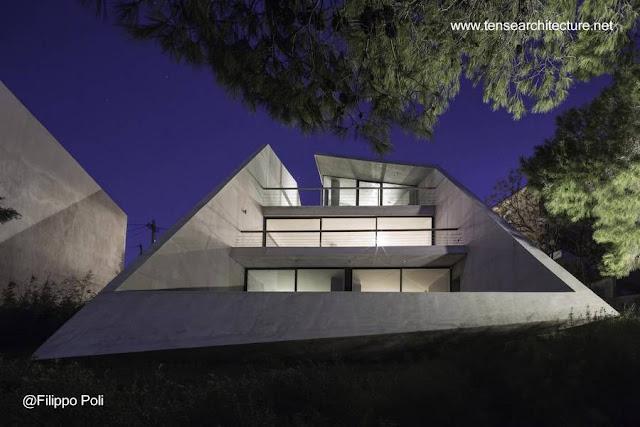 Residencia ultra-moderna en Grecia