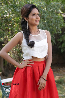 Actress Mahima Nambiar Latest Stills in White Top and Red Skirt at Kuttram 23 Movie Press Meet  0006.jpg