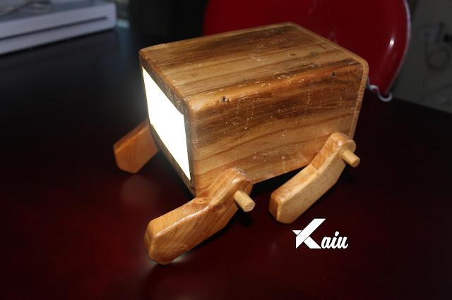 Jual Lampu Belajar Unik dari Kayu