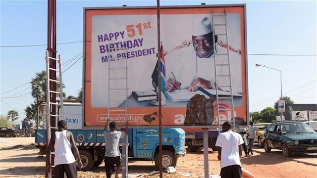 Gambia opposition of Adama Barrow  demands Yahya Jammeh hand over power