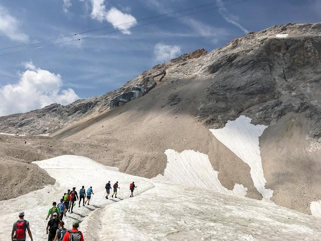 Übers Gatterl auf die Zugspitze  Alpentestival Garmisch-Partenkirchen   Gatterl-Tour auf die Zugspitze über ehrwalder Alm und Knorrhütte 13