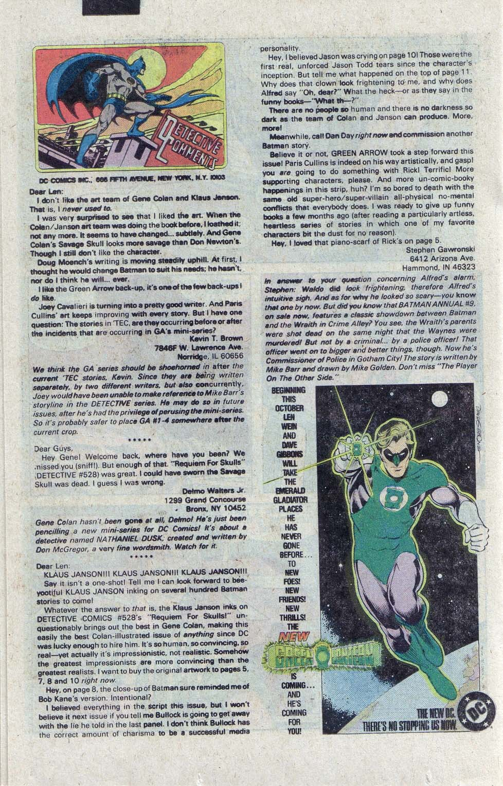 Detective Comics (1937) 531 Page 20