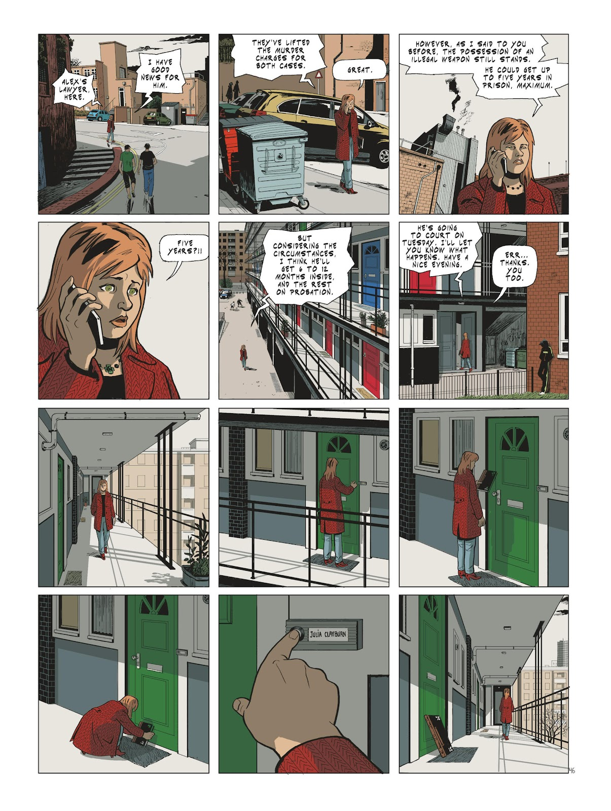 Read online Maggy Garrisson comic -  Issue #3 - 48